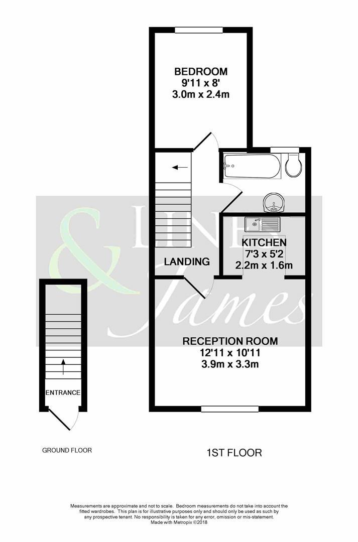 Floorplan for Moons Lane, Horsham